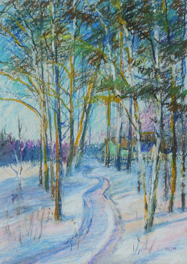 Зимняя лыжня
