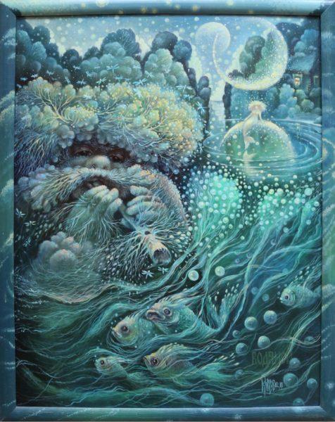 Водяной и русалка