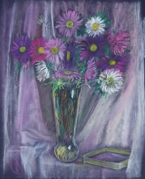 Натюрморт из полевых цветов