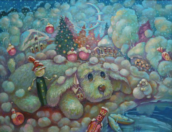 Картина для детской спальни