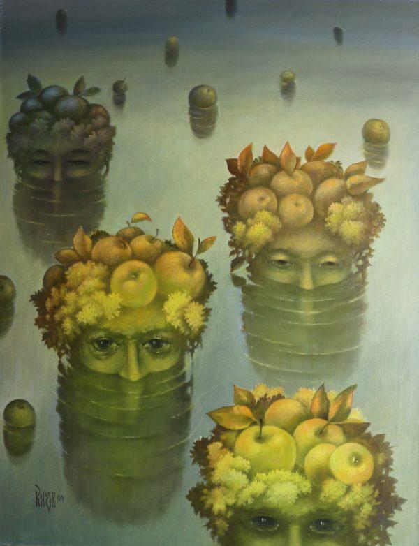 Гипнотизирующие яблочные острова